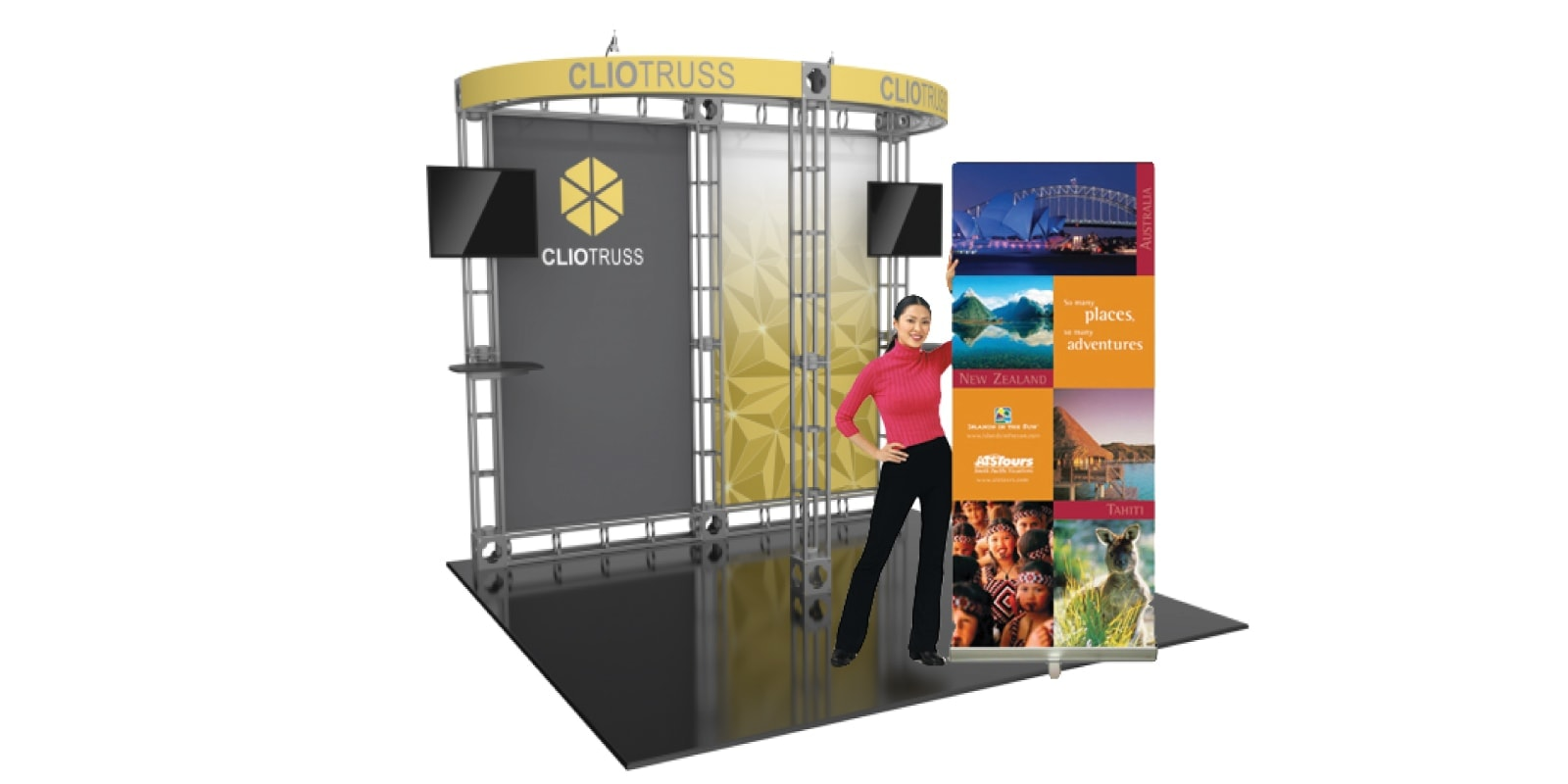 Stands Roll Ups Photocalls Top Level Promo