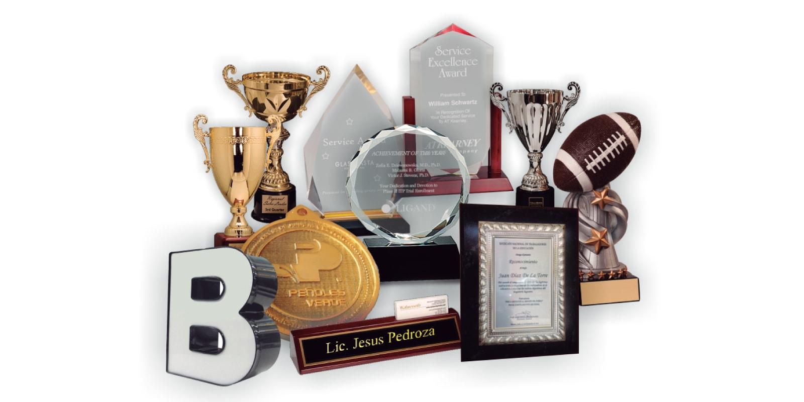 Placas Trofeos Reconocimientos Top Level Promo