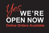 Yes We are Open Now