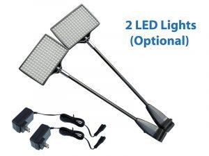 2 LED Lights