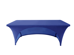 Stretch Table Throw Back