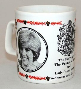 Promotional items princess diana mug